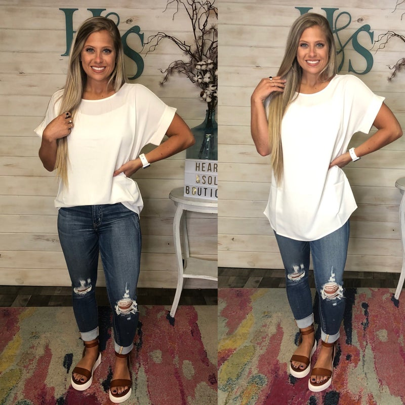 Relaxed Fit Office Top