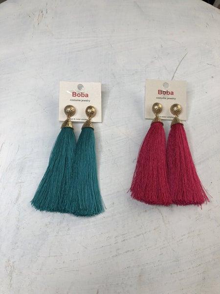 Tassel Earrings *Final Sale*