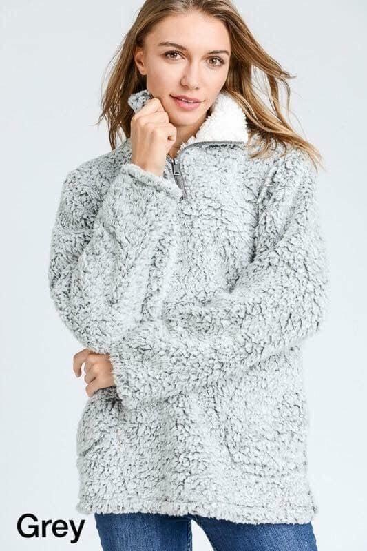 Sherpa Pullover *Final Sale*
