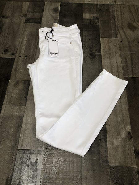 Hammer White Skinny Jeans *Final Sale*