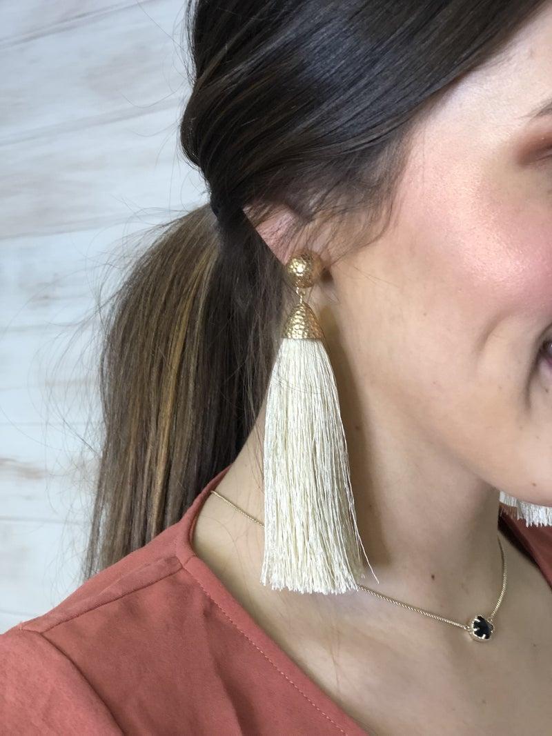 Gorgeous Tassel Earrings *Final Sale*