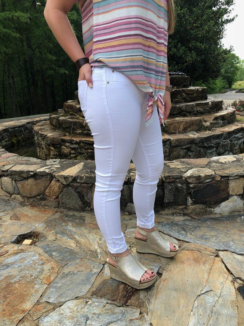 Hammer White Skinny Jeans *Final Sale*