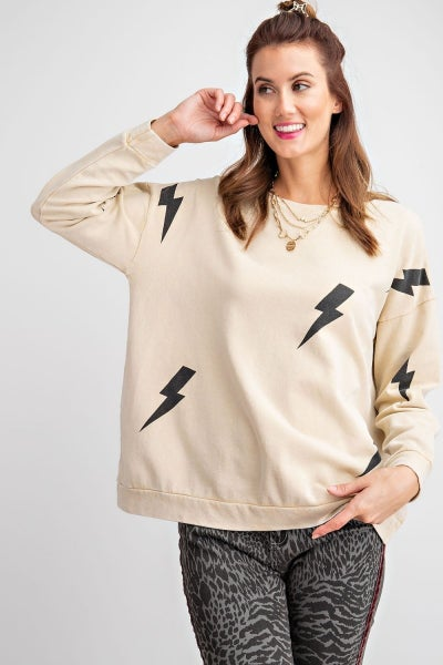 Easel Lightning Bolt Sweatshirt