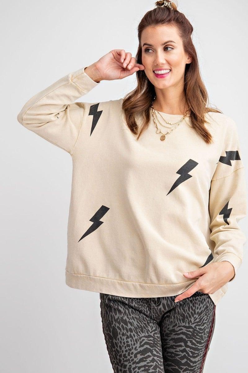 Easel Lightning Bolt Sweatshirt