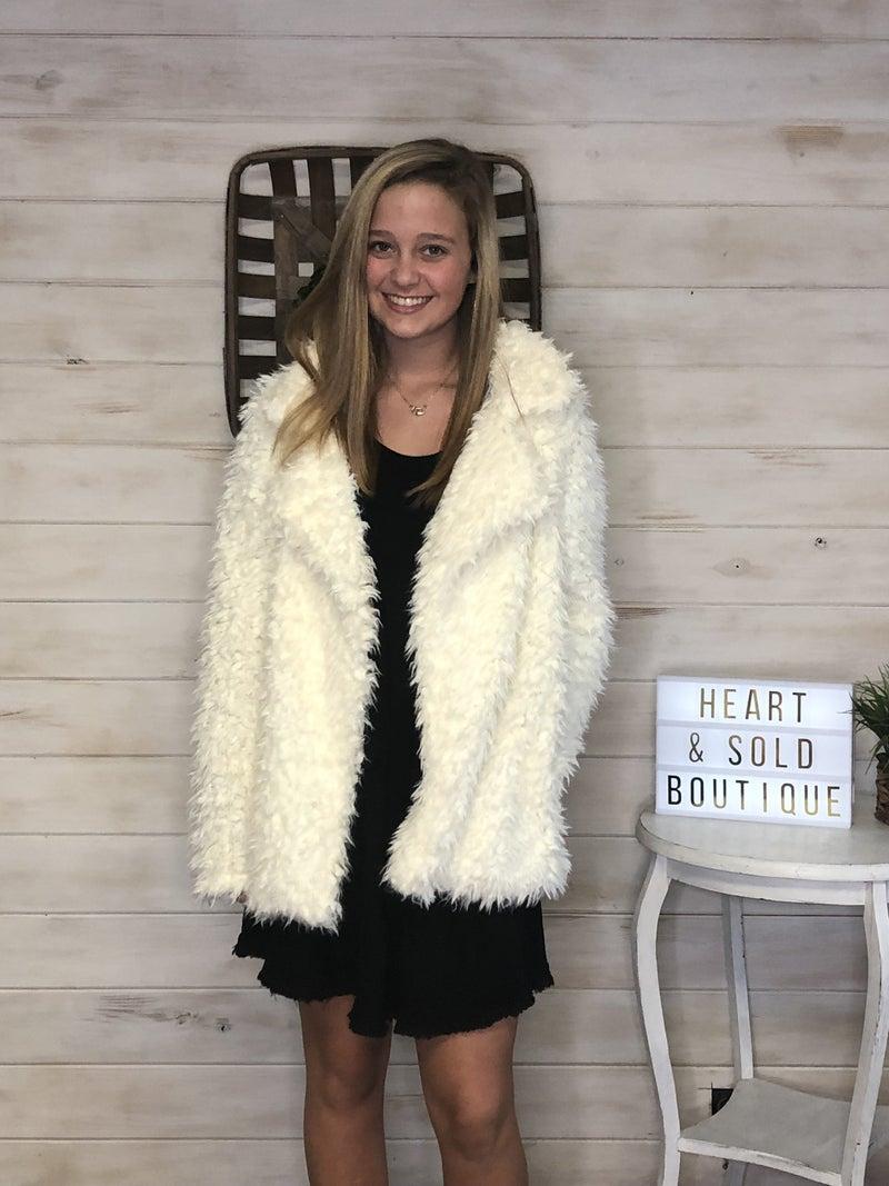 Rachael Faux Fur Jacket