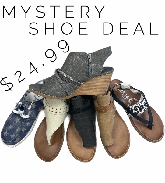 Mystery 24.99 Shoe Deal!!!