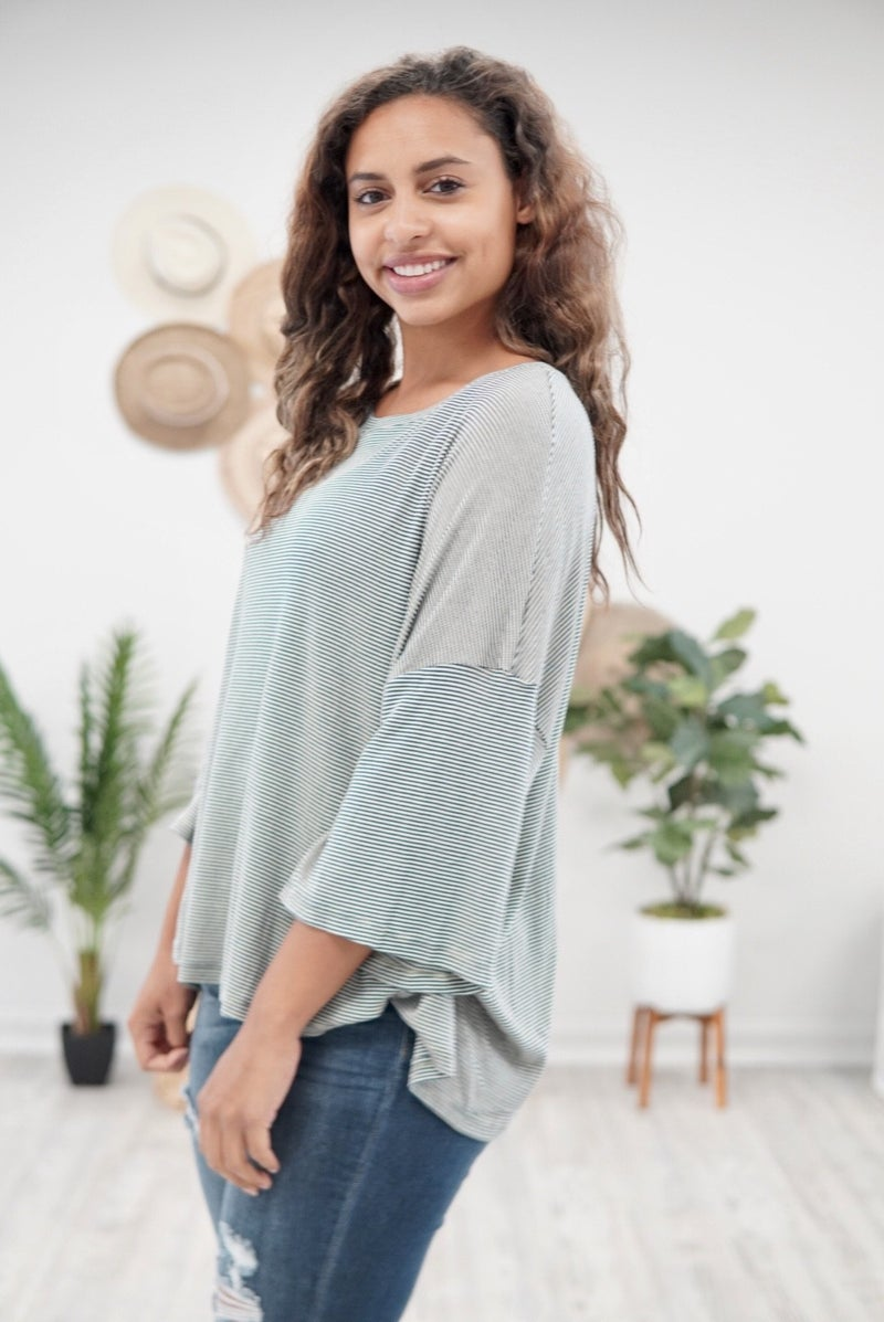 Sweet Stripes Tapestry Top