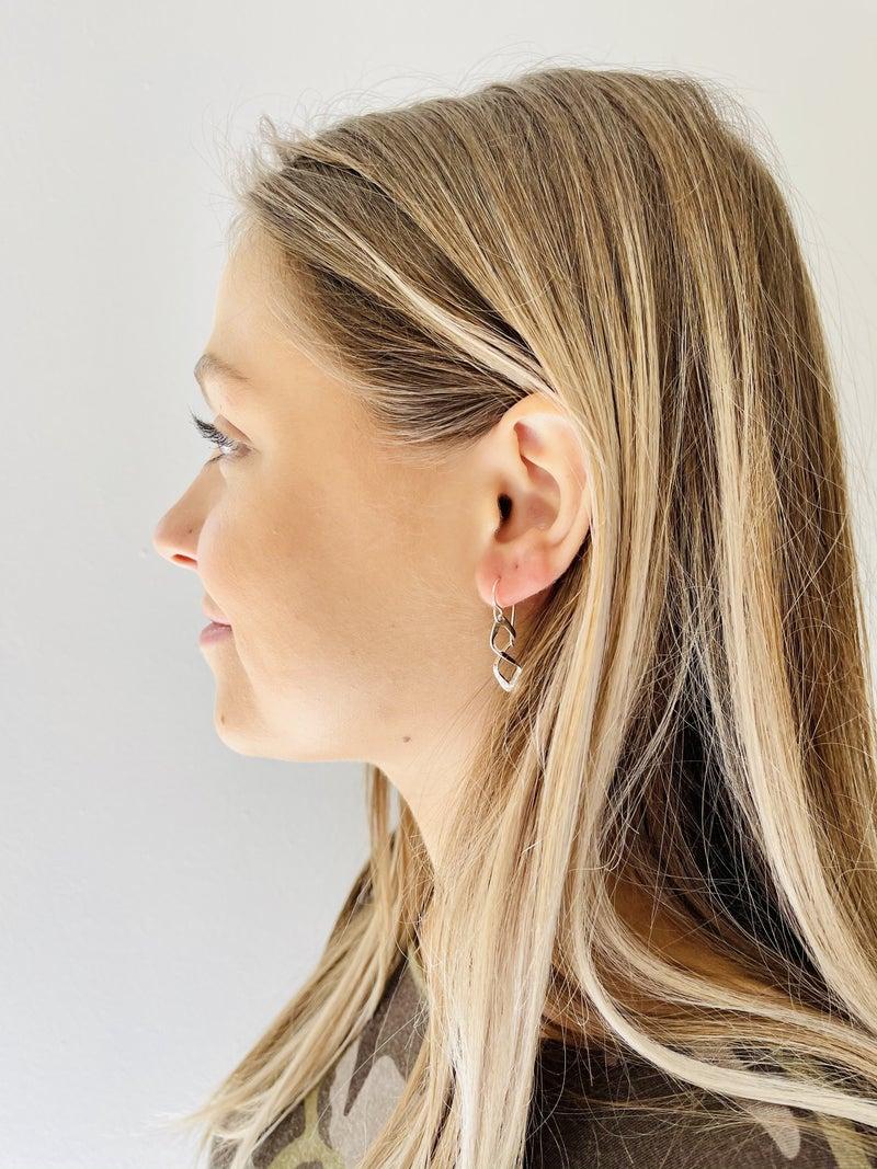 A Little Twist Dangle Earrings