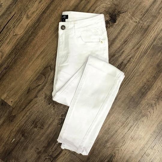 Summertime Step Hem Denim Jeans