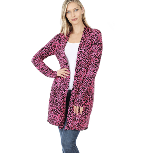Cheetah Girl Cardigan