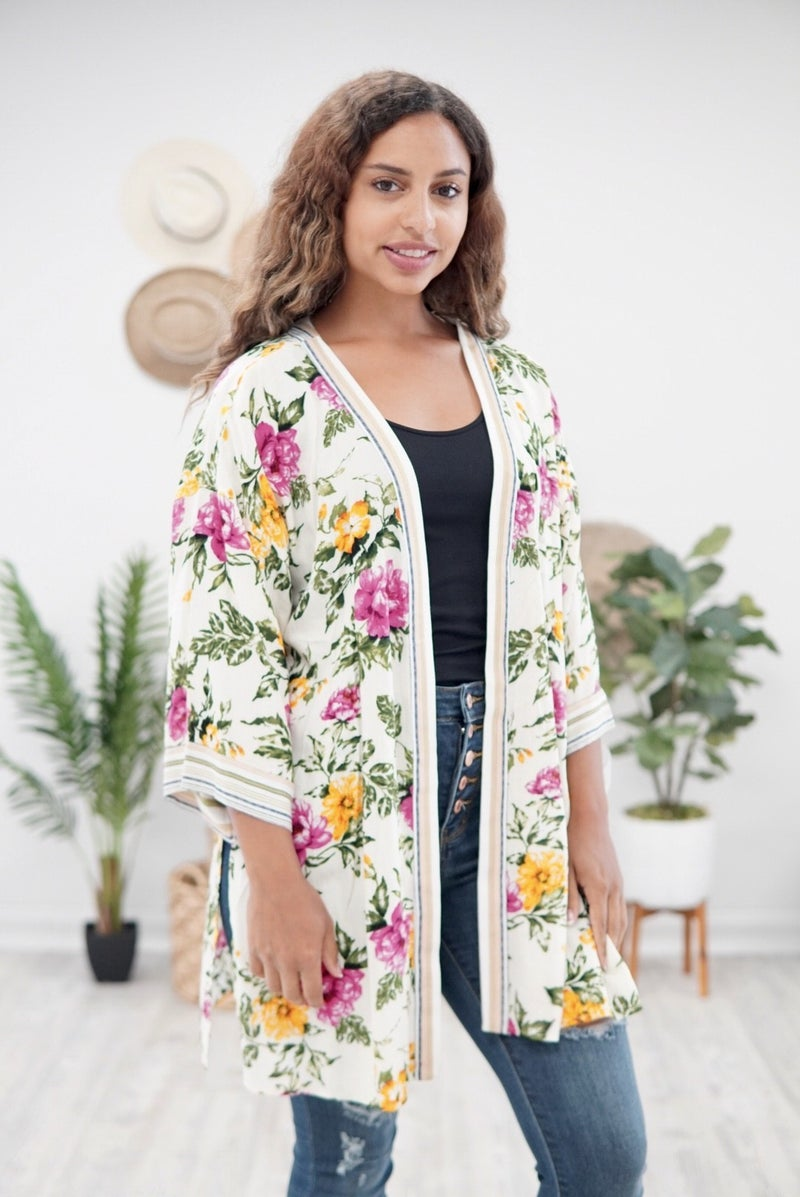 Beauty in the Garden Kimono