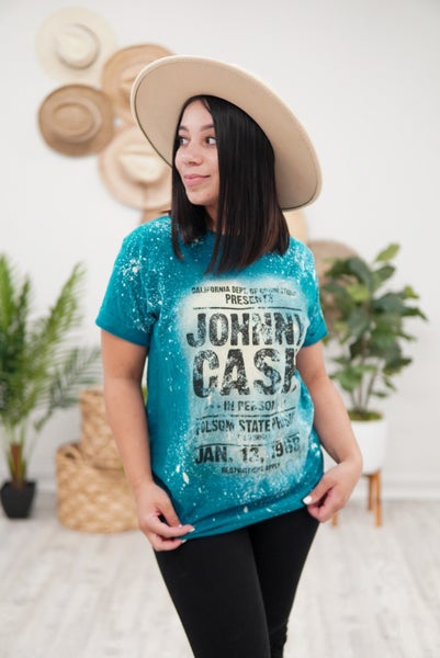 Johnny Cash Band Tee