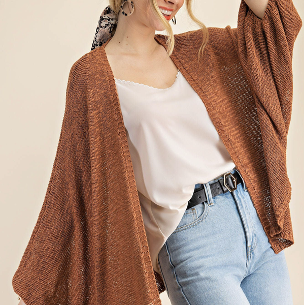 Bubble Sleeved Beauty Cardigan