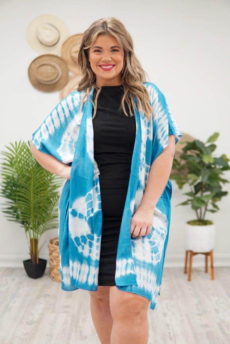 See The Good Tie Dye Kimono