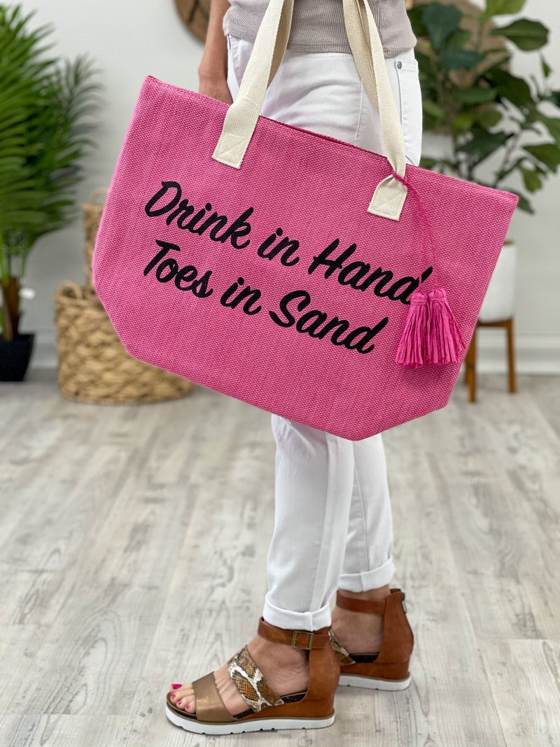 Summer Ready Beach Tote