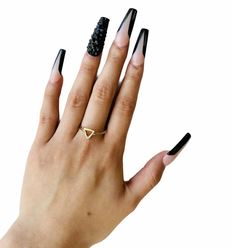 Mini Triangle Ring