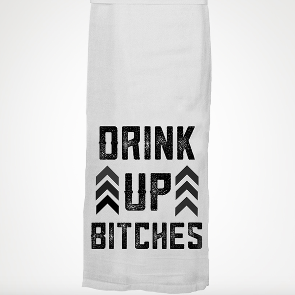 Drink Up Towel