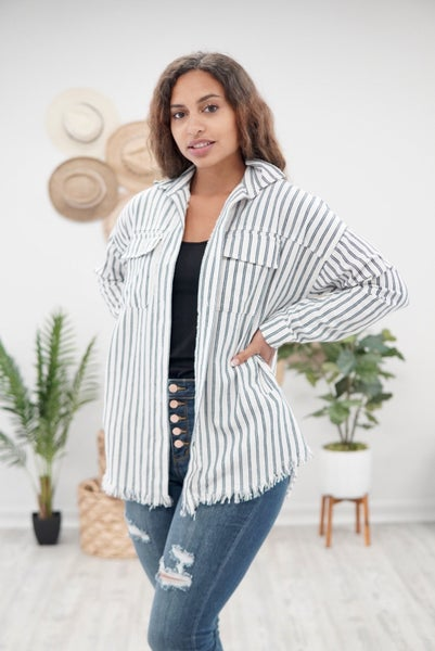 Don't Be A-Frayed Button Down Shirt