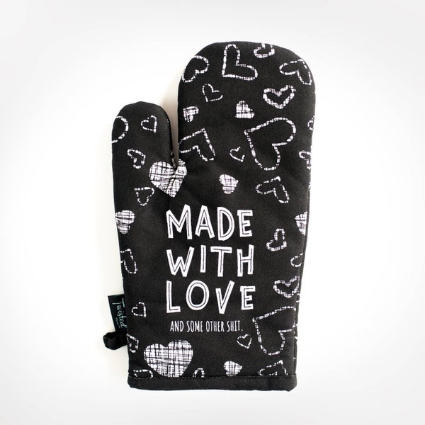 Not Mom's Oven Mitt