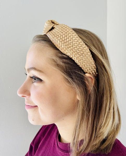 Straw Knot Headband