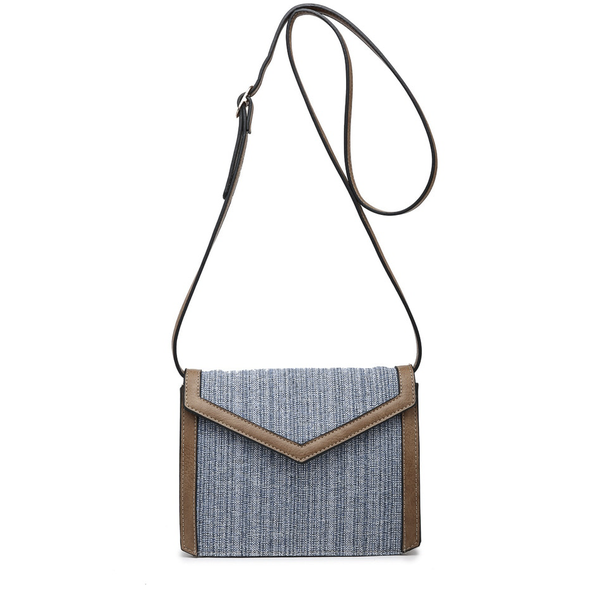 April Straw Crossbody