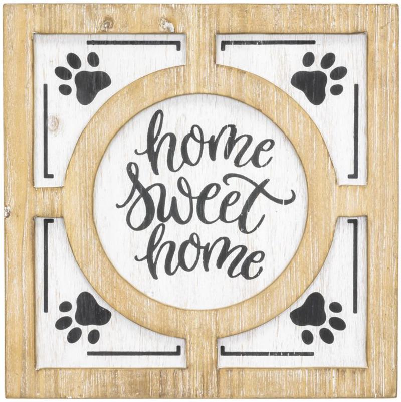 Home Sweet Home Paw Art