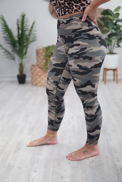 Athletic Camo Pants
