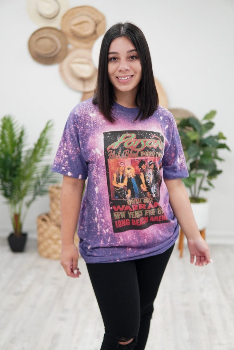 Poison Rock Band Tee