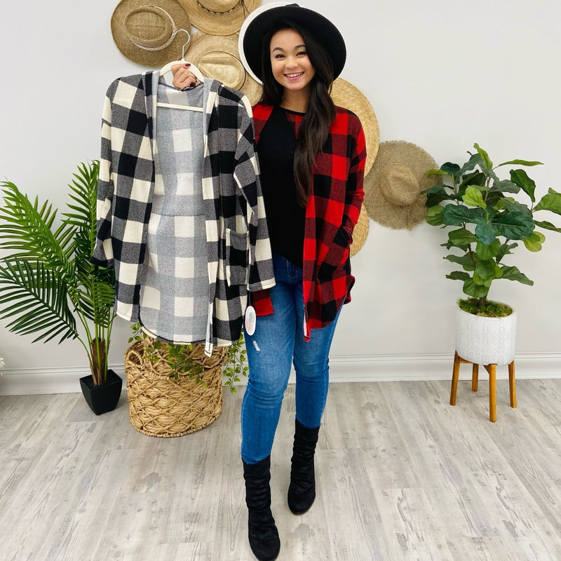 Style Me Pretty In Plaid Cardigan