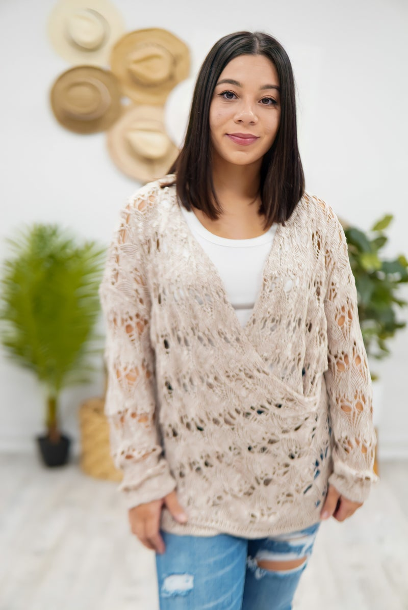 Hot Stuff Crochet Top