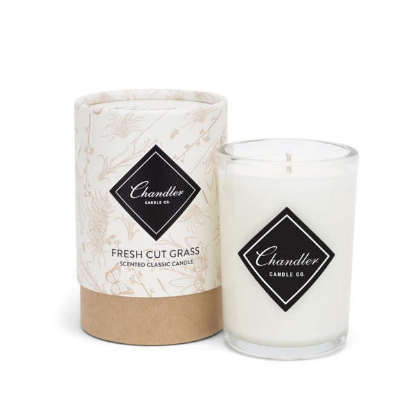 TAKEOVER- Chandler Candle Co Fresh Cut Grass Classic Candle
