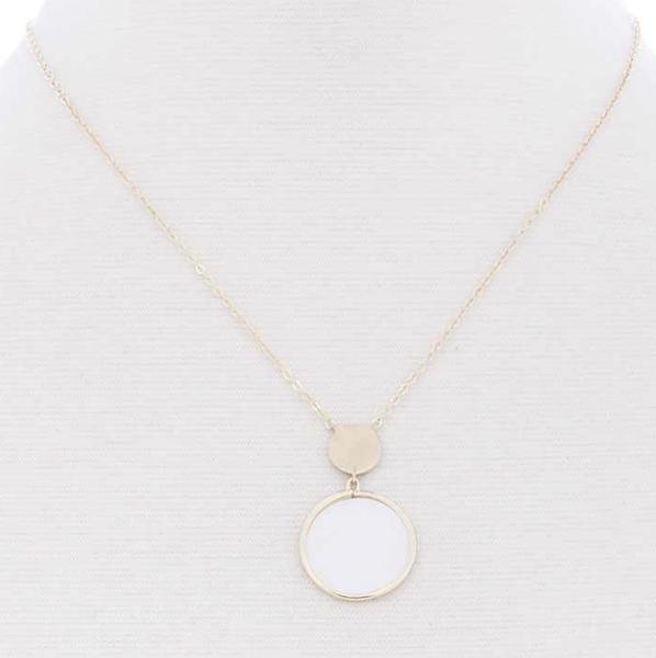 Modern Goddess Necklace