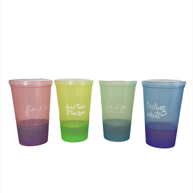 Boho Color Changing Beach Tumbler