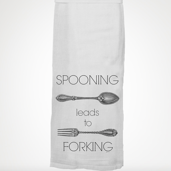 Spooning Leads To Towel