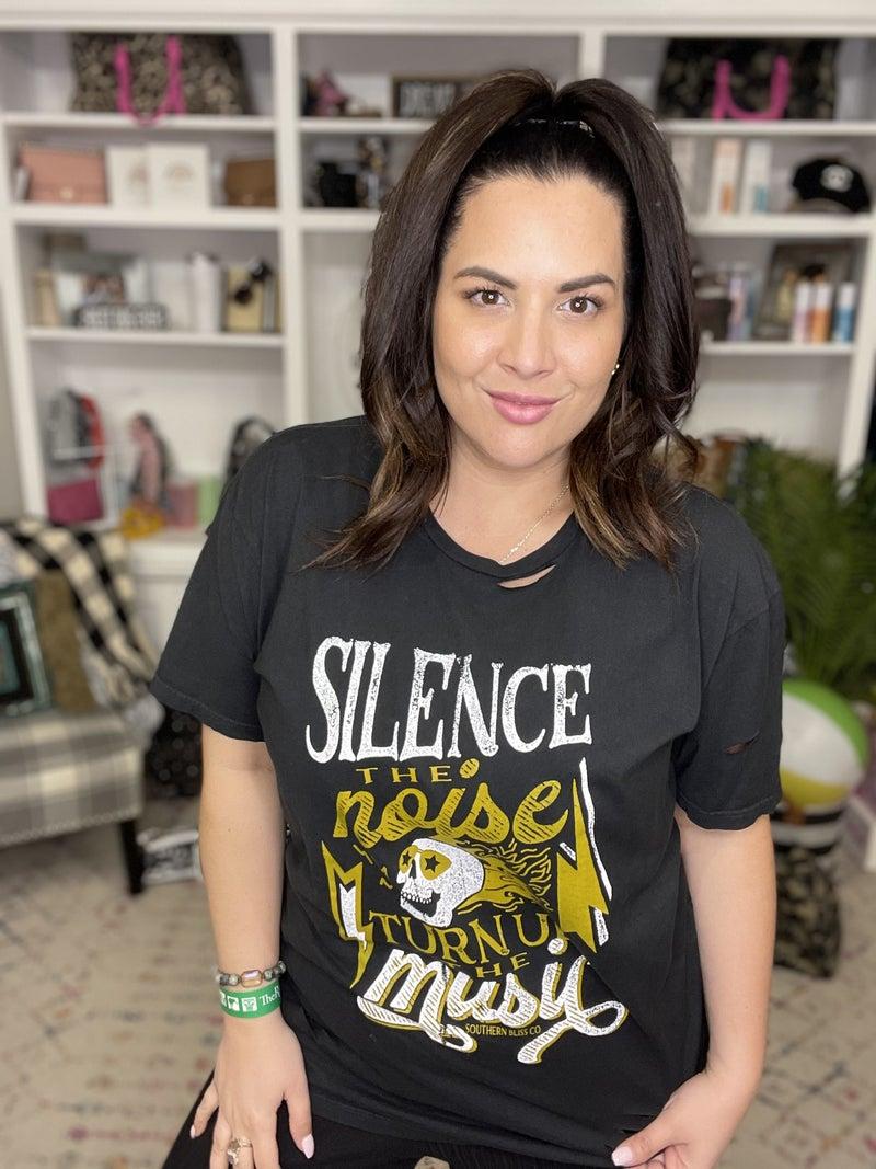 Silence The Noise Top