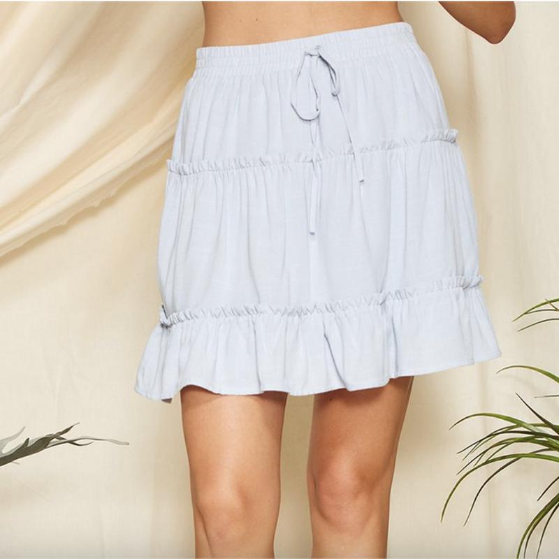Having Fun Tiered Skirt