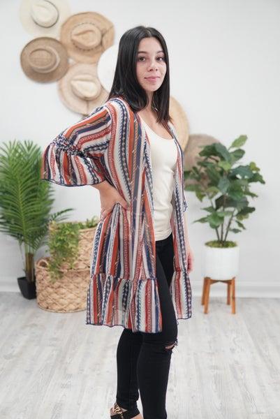 Take Me To Stagecoach Kimono