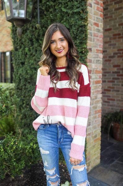 Carrie Colorblock Sweater