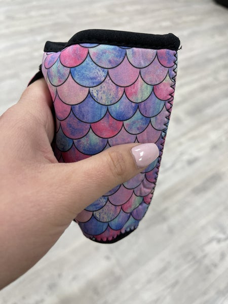 Mermaid Scale Beverage Sleeve