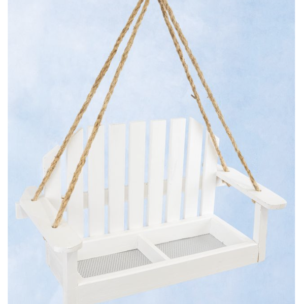 Front Porch Swing Bird Feeder