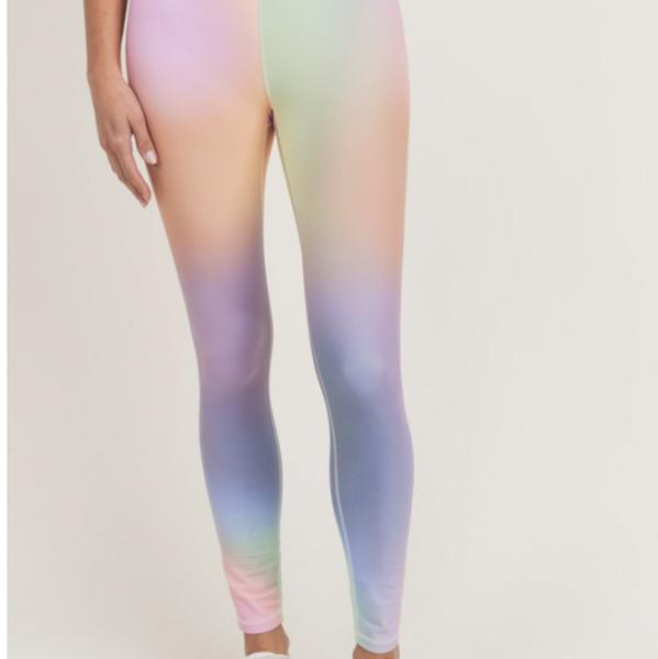 Over The Rainbow Ankle Length Leggings