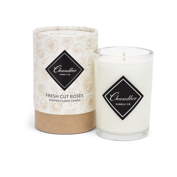 TAKEOVER- Chandler Candle Co Fresh Cut Roses Classic Candle