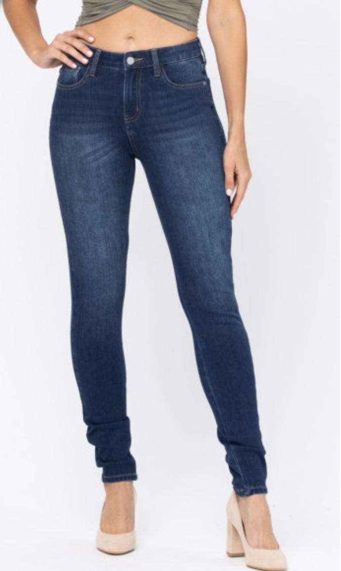 Judy Blue Keeping Me Warm Thermadenim Skinny Jeans