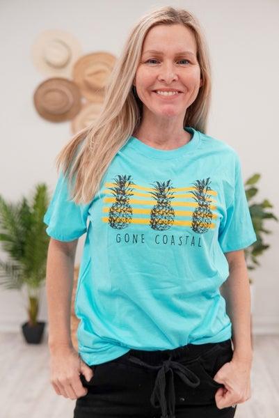 Gone Coastal Pineapple Tee