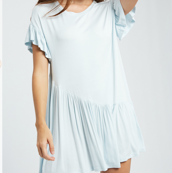 Ruffle Up Mini Dress