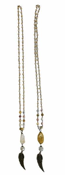 Custom Angel Wing Necklace