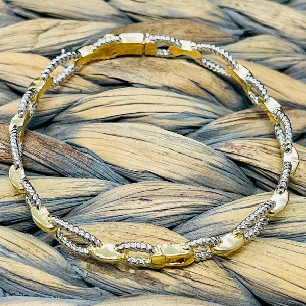 Chain Link Inspired Bracelet