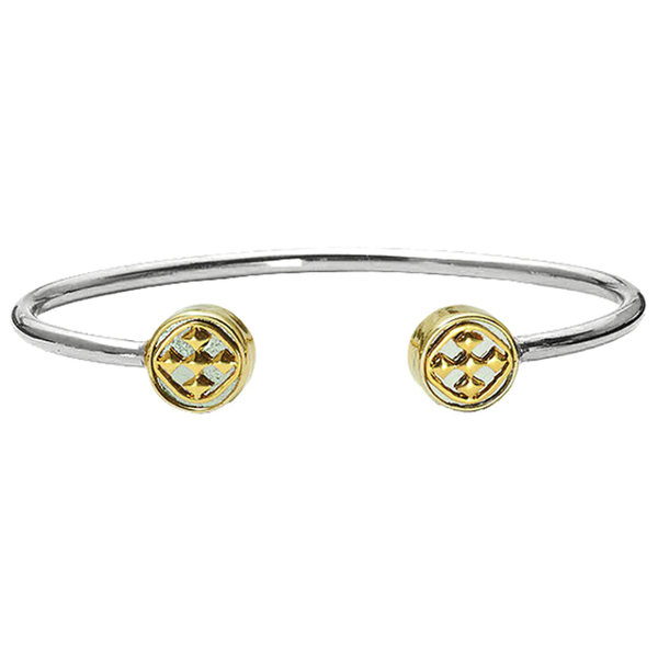 Gracewear Medallion Bangle Bracelet