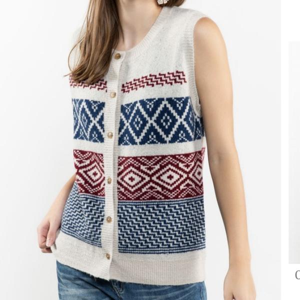 Fun And Trendy Sweater Vest