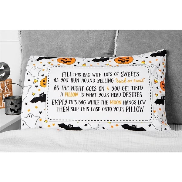 Trick or Treat Pillowcase